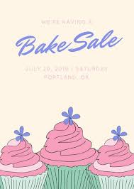 How To Have A Bake Sale Customize 354 Bake Sale Flyer Templates Online Canva