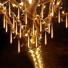 String Light Outdoor Christmas Tree Us 9 97 25 Off Beiaidi 30cm 50cm Waterproof Meteor Shower Rain Tube Led String Lights Outdoor Christmas Wedding Garden Tree Decoration Garland In