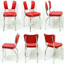 red retro chairs. Red Retro Chairs Kitchen: Full Size N