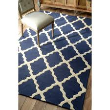 beautiful navy blue area rug for your home decor living room design with navy white