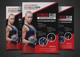 Fitness Brochure Template Inspirational Fitness Brochure Template 24 Gym Flyer Designs 1