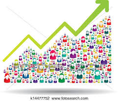 Clipart Growth Chart Growth Chart Clipart K14477752 Fotosearch