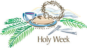 Image result for image of holy week schedule