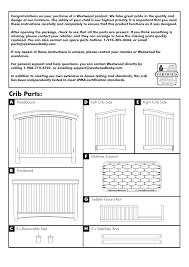 Westwood Design Stratton Convertible Crib Crib Parts Westwood Design Stratton Convertible Crib