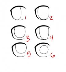 how to draw anime eyes step by step for beginners. Plain Eyes Step 3 Inside How To Draw Anime Eyes By For Beginners P