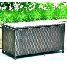 outdoor wicker storage bench white patio wood box wing by christopher knight home outdoor wicker storage bench