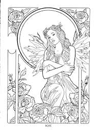 Small Picture 535 best COLOR FAIRIESANGELS images on Pinterest Coloring books
