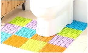 ikea floor mat toilet floor mat novel carpet free combination non slip mat material waterproof non