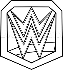 Small Picture WWE Championship Belt Coloring Pages cakepinscom Birthday cakes