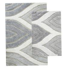 grey bathroom rug sets