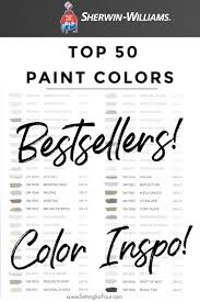 top 50 besting paint colors at