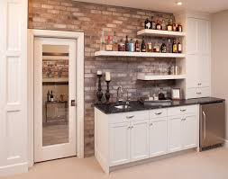 home bar traditional with bar sink beige cabinets image by eanf