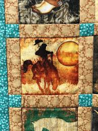 Little Cowboy Quilt | Seam Queen & Each little motif was carefully cut and then sashed with coordinating  fabric. Adamdwight.com