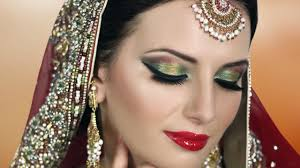 pink and gold smokey eyes glam indian stani bridal makeup tutorial i pink and purple glitter smokey eye bridal makeup tutorial 2016 video dailymotion