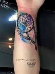 Dream Catcher Tattoo Color Watercolor tattoos 51