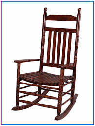 extra large wooden rocking chair