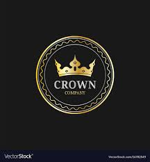 Logo With Crown Crown Logos Set Luxury Corona Monograms