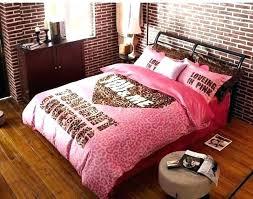 leopard bedding pink sets winter worm velvet fleece comforter print animal queen animal print bedding sets