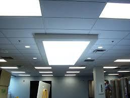 drop ceiling fluorescent light fixtures