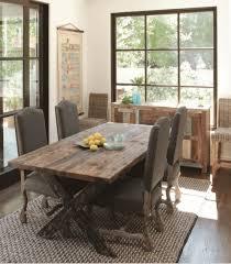 distressed dining table room ideas