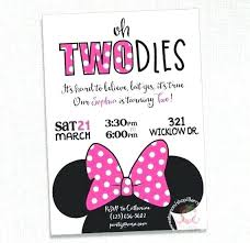 Minnie Mouse Printable Birthday Cards Woodnartstudio Co