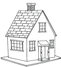 Coloring Page Of A House Coloring Pages Of A House House Coloring
