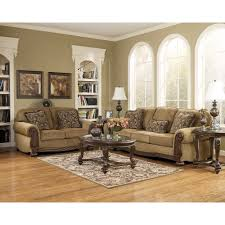 Living Room Sofa And Loveseat Sets Amber Norcastle Living Room Group 5 Pc With 3 Pc Occasional