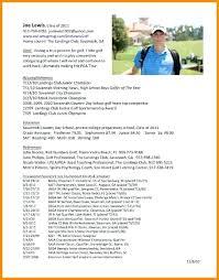 golf professional resume golf resume template golf professional resumeprofessional resume