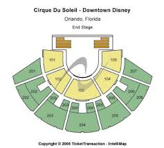 San Francisco Cirque Du Soleil Seating Chart Cirque Du Soleil Downtown Disney Tickets And Cirque Du