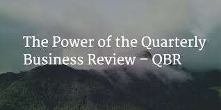 business quarterly report template the power of the quarterly business review qbr