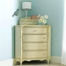 corner dresser small unit white