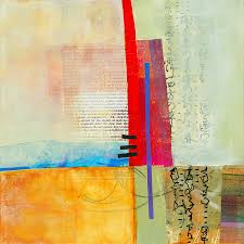 abstract painting grid 3 by jane davies