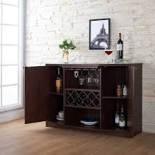 Amazon ioHOMES Annadel Wine Cabinet Buffet Vintage Walnut