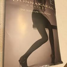 Donna Karan Tights Size Chart Donna Karan Black Small Petite Sandalfoot Tights Nwt