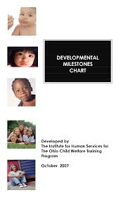 Child Development Stages Chart 0 19 Development Growth Chart Ages 0 19 Docsity