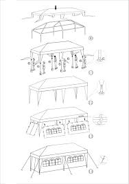 tent for outdoor picnic party or storage