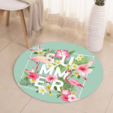 summer flowers round flamingo area rug flamingo rugs with free for home decor