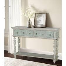 pulaski furniture white storage console table
