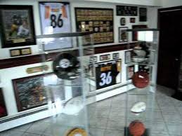 Sports man cave Unique Ultimate Football Sports Man Cave Sports Collectors Daily Ultimate Football Sports Man Cave Youtube