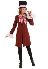 deluxe plus size women s mad hatter costume