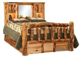 High Quality Everybody Loves Raymond Bedroom Set Rustic Aspen Log Bed With Bookcase  Headboard From Aspen Log Bedroom