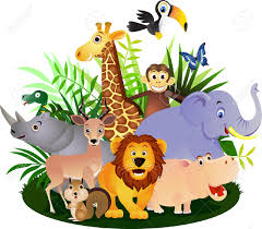 Image result for safari animals clipart