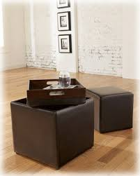 ashley furniture storage ottoman. Brilliant Ottoman Ashley Furniture Signature Design  Storage Ottoman With Flip Tray Top And  Additional Cube Intended Amazoncom