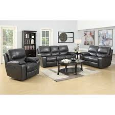 reclining living room furniture sets. Leland 3-piece Top Grain Italian Leather Power-Reclining Set Reclining Living Room Furniture Sets