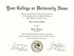 Phd Degree Certificate Sample New College University As Phd Degree ...