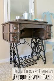 sigh these antique sewing tables are so lovely with their cast iron legs and deling