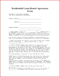 Awesome Apartment Lease Form | Factor 15 Limited