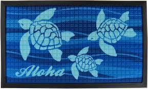 Amazon.com : Aloha Honu Tropical Door Mat 30