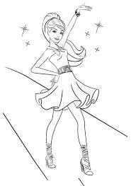 Small Picture Dance coloring pages barbie ColoringStar