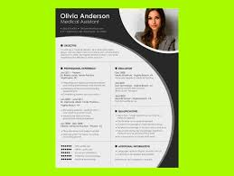 Resume Template For Openoffice Writer